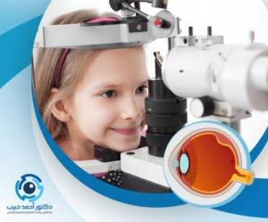 علاج انفصال الشبكية عند الاطفال