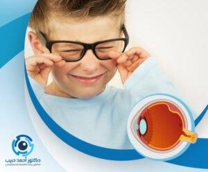 كيف يتم علاج انفصال الشبكية عند الاطفال